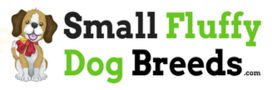 Logo for Small Fluffy Dog Breeds website