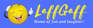 Logo for LaffGaff website