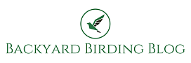 Logo for Backyard Birding Blog website