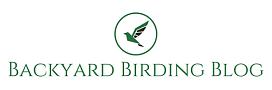 Logo for Backyard Birding Blog website