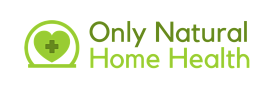 Logo for Only Natural Home Health website