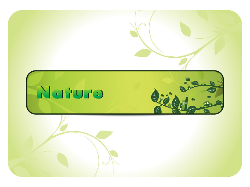 Green image of nature background