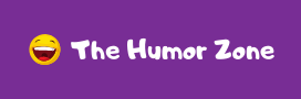 Logo for The Humor Zone website